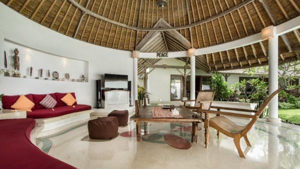 Villa Damai Kecil living room