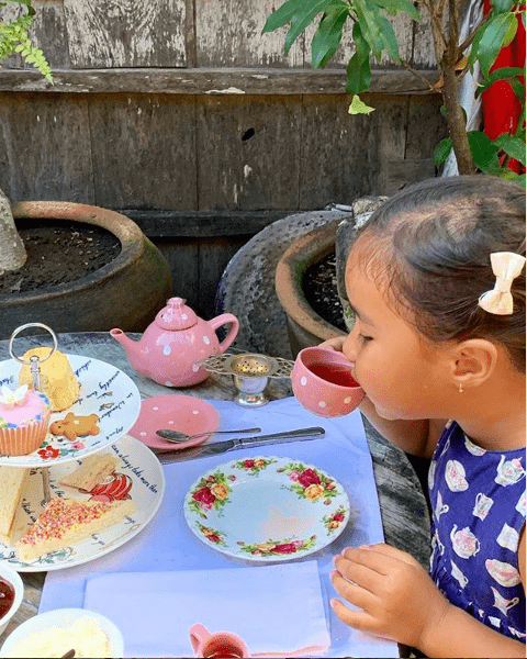 high tea for kids at biku