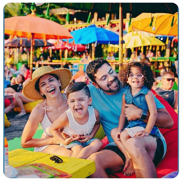 family fun at la plancha