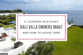 Villa Rental Common Mistakes