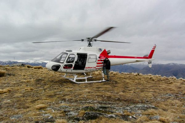 Helicopter ride - things to do with kids in Queenstown nz