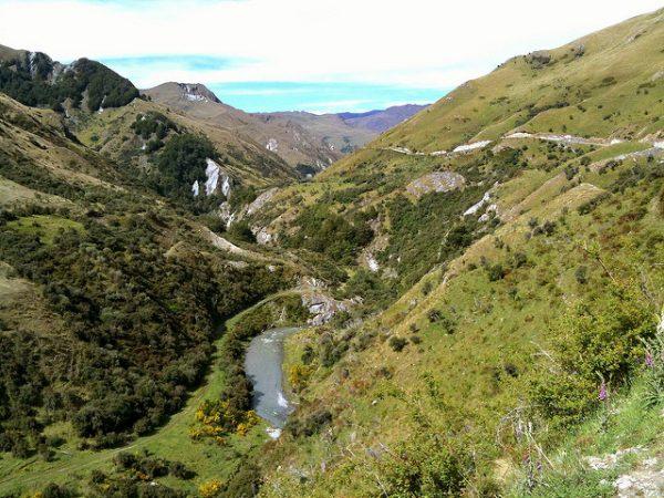 Mountain biking Queenstown New Zealand