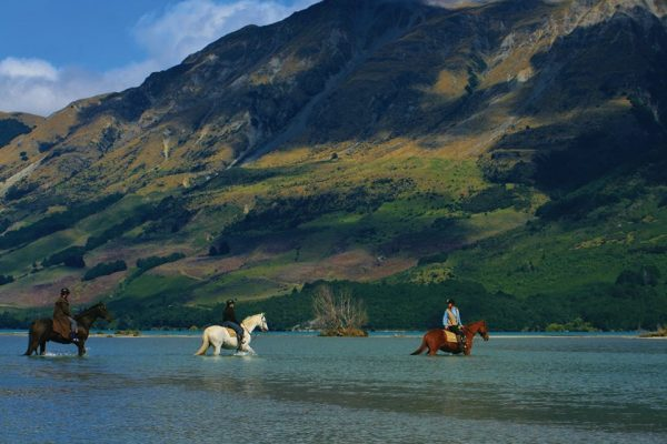 what to do in queenstown new zealand - horse riding amidst nature