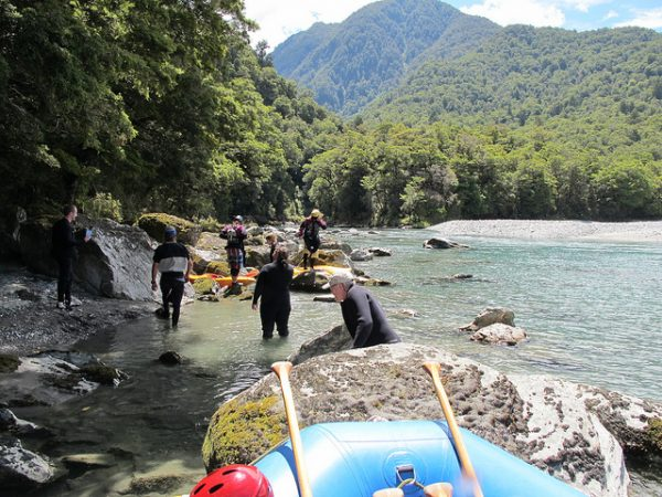 Wanaka rafting