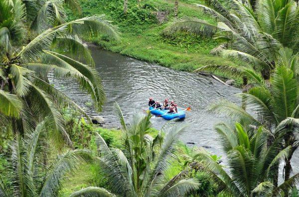 bali family activities - rafting