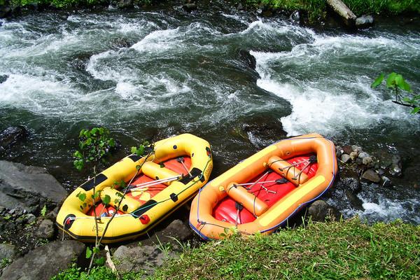 rafting - day trips from seminyak