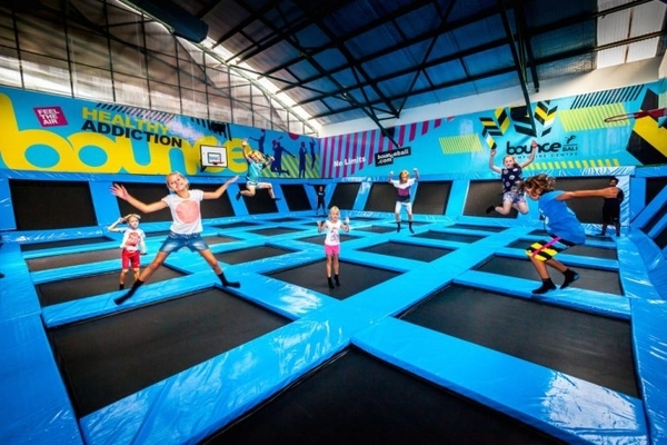 things to do in Seminyak when it rains - Bounce bali