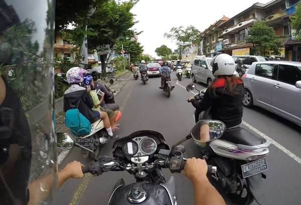 motorbike riding in bali