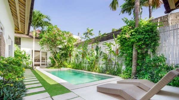 cheap villas in seminyak - villa tara