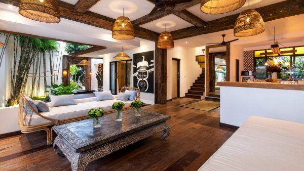 villa metisse decoration
