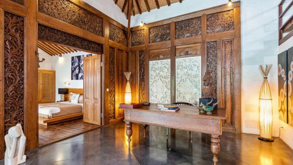 bali furniture at villa shantika