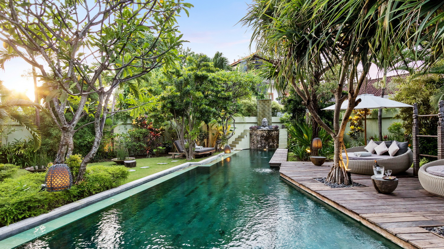 best seminyak villas near beach