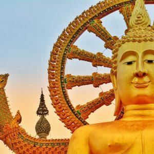 Wat Phra Yai in Samui.