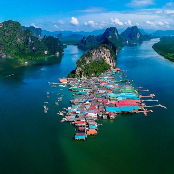 Floating village Koh Panyi. Photo credit: jensparadiisisaarelt on Instagram