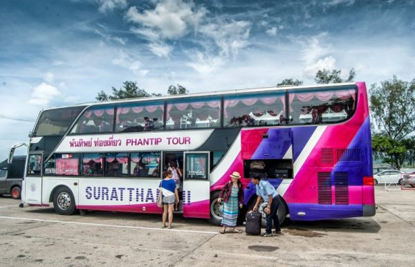 Travelling by bus to Koh Samui. Photo credit: Renjith Sasidharan on Flickr