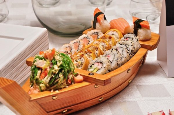 Japanese food - sushi boat