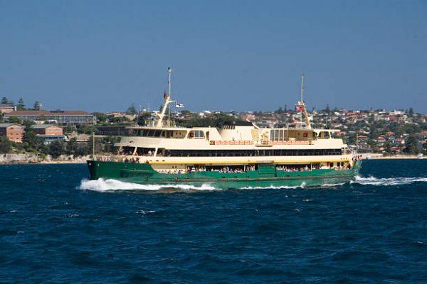 Ferry ride around Sydney Harbour