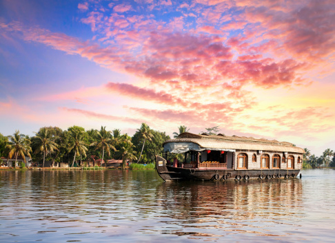 kerala with kids: explore the backwaters