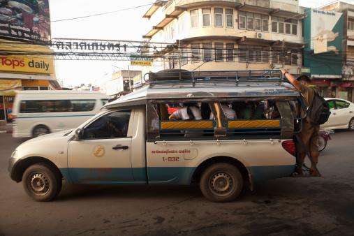 chiang mai transportation - sonethaew