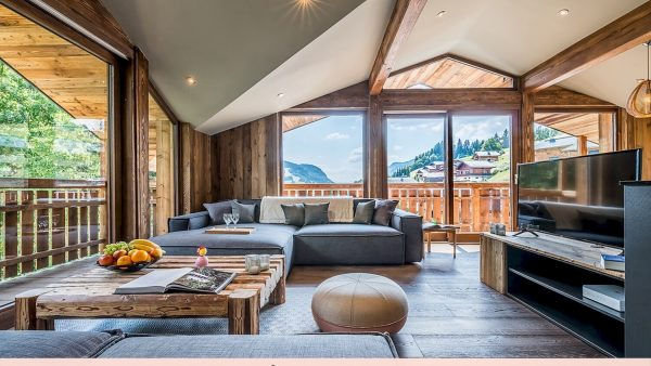 Chalet Moulin III - best ski chalets in the French Alps