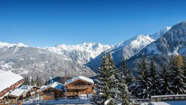 ski chalet le 1550